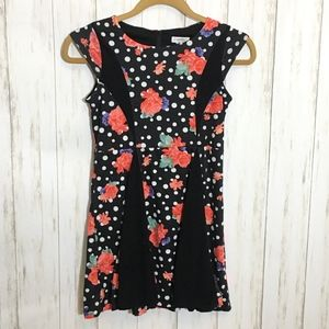 KC Parker Hartstrings Floral Skater Dress